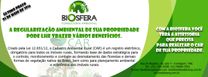 Folder Cadastro Ambiental Rural - CAR